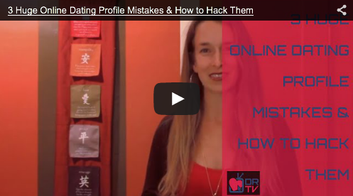 The Big 3 Online Dating Mistakes & How To Fix Them Fast