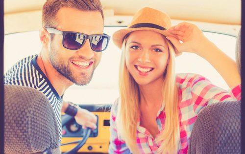 how to find a decent guy couple in a car